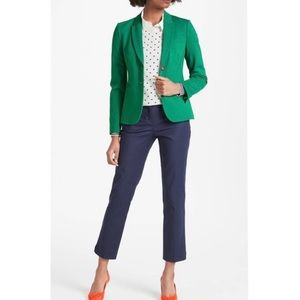 Boden • Casual Weekend Polka Dot Green Dress